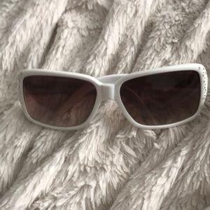 Fossil White Sunglasses